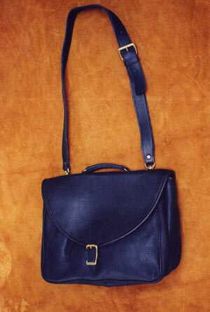 Leather Mail Brief Bag