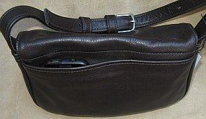 Medium Leather Classic Bag Back