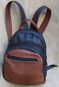 Daypack Leather Back Pack