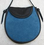 Black and Blue Elana Bag