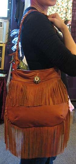 One-of-a-Kind Fringe Bag