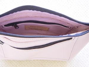 Leather Spring Bag Inside Details