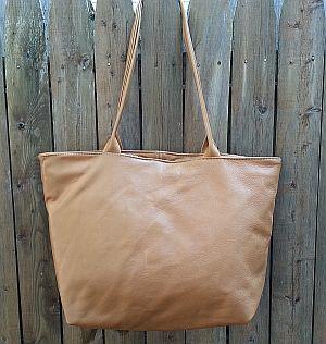 Large Zipper Tote Bag
