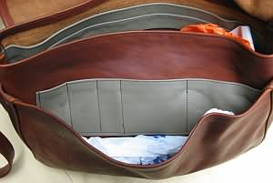 Messenger Bag Inside Front Pocket