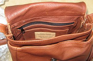 Small Leather Classic Bag Inside