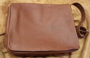 Messenger Bag Cognac Front
