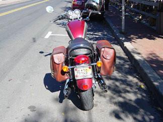 Custom Motorcycle Saddle Bags